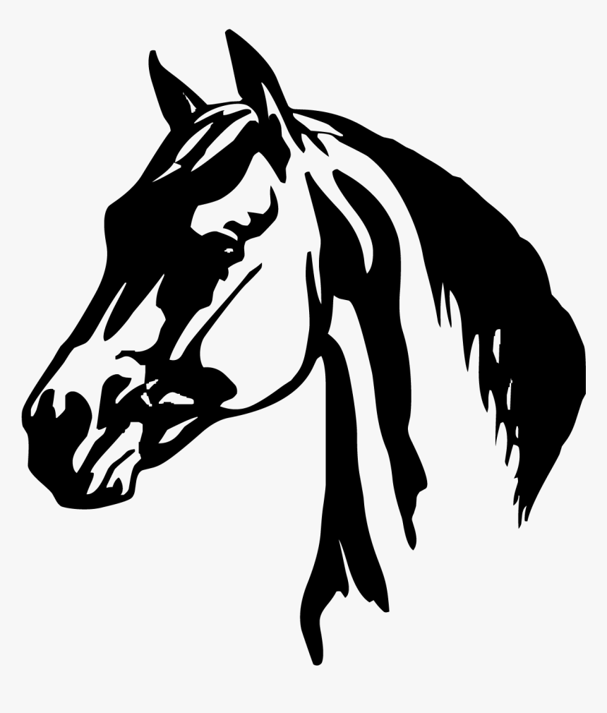 Horse Head Png Clipart - Horse Head Horse Icon, Transparent Png, Free Download