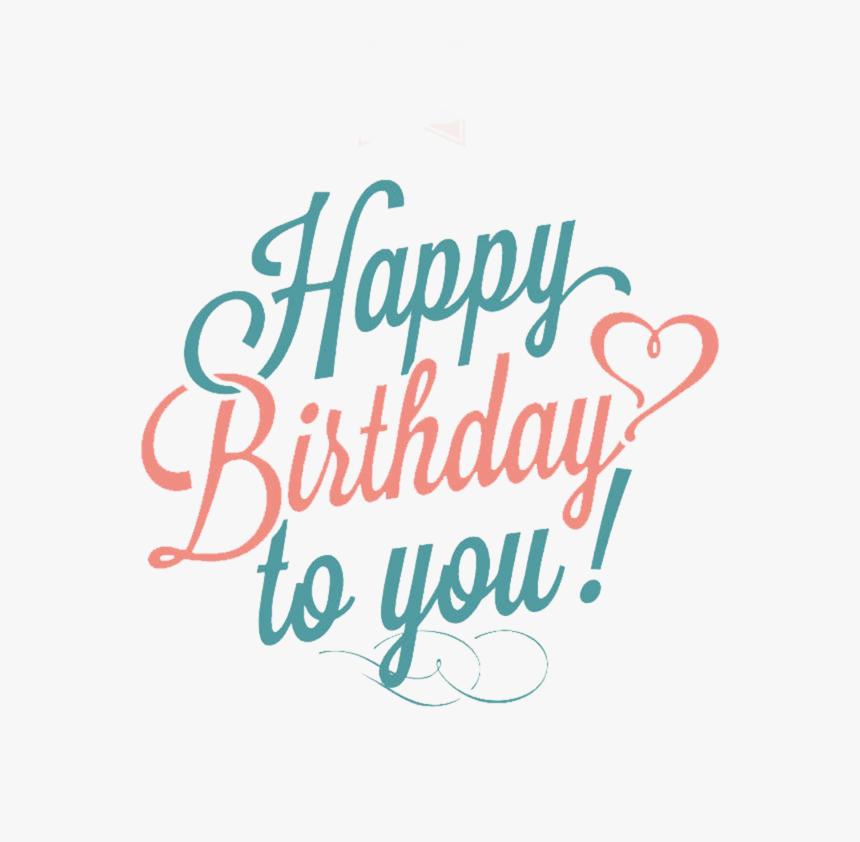 Area Text Wedding Greeting Birthday Invitation Card - 生日 快樂 英文, HD Png Download, Free Download