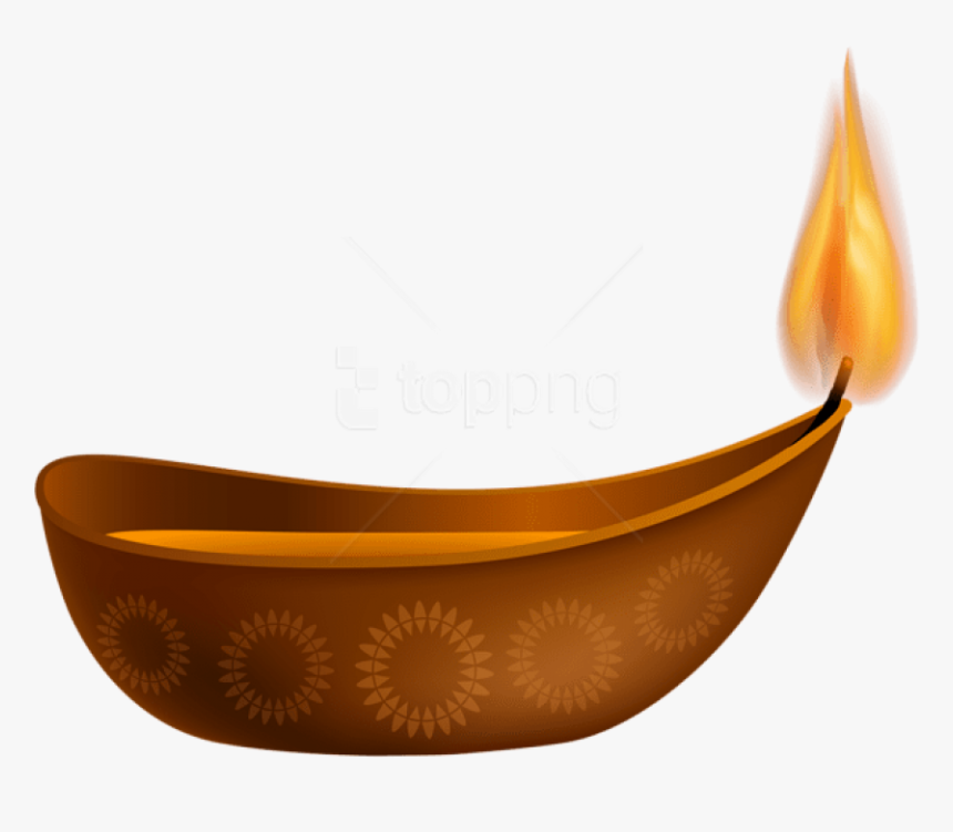 Free Png Download Happy Diwali Candle Clipart Png Photo - Diwali Candle Png, Transparent Png, Free Download