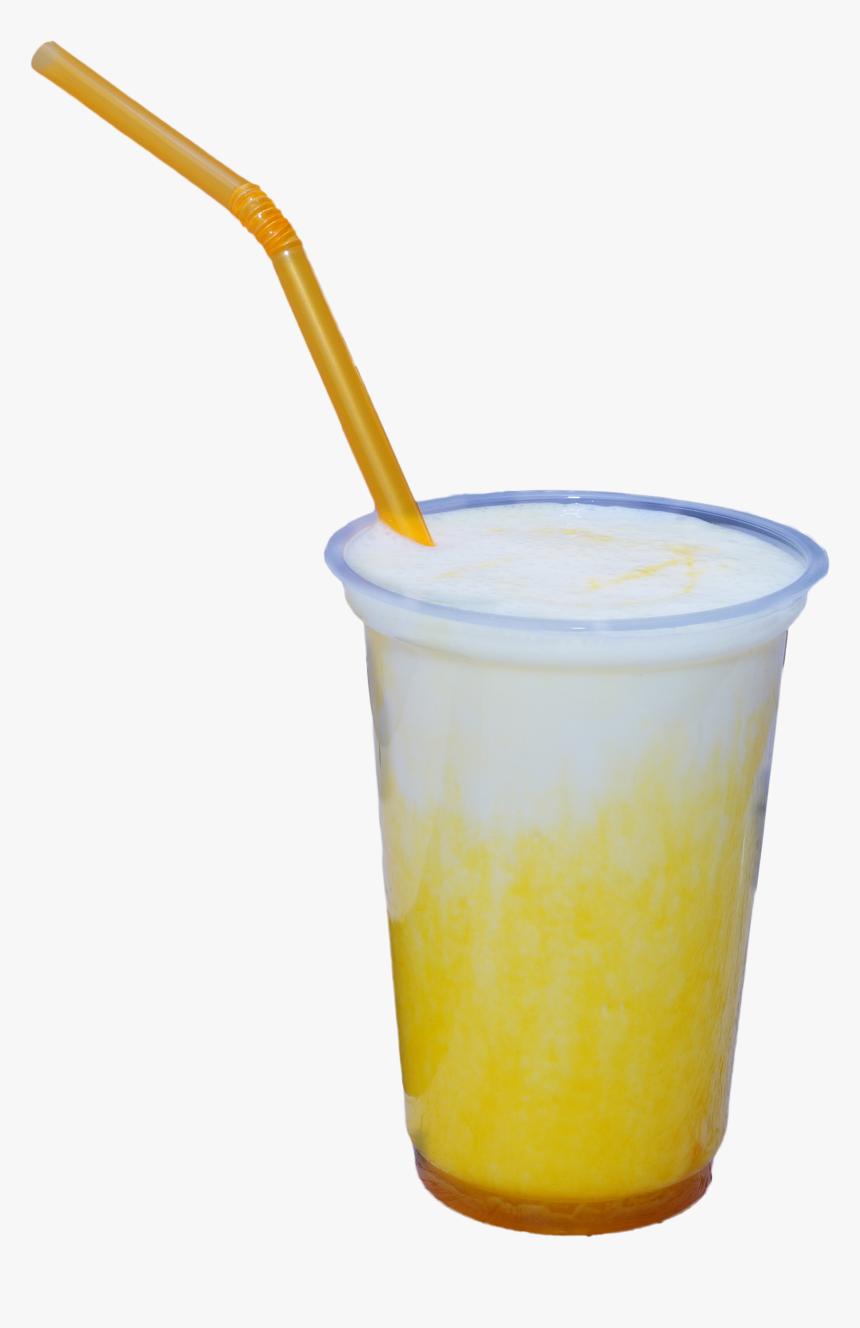 Mango Cold Drink Shake Glass Png - Frozen Carbonated Beverage, Transparent Png, Free Download