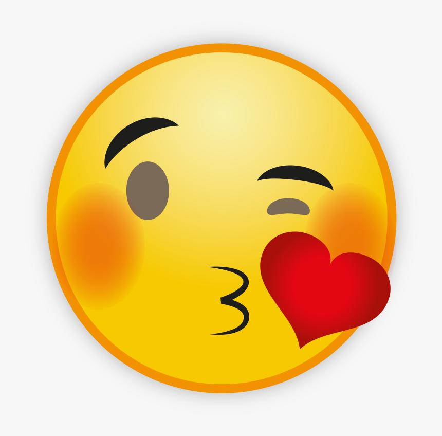 Arti Emoticon Love Di Wajah, HD Png Download, Free Download