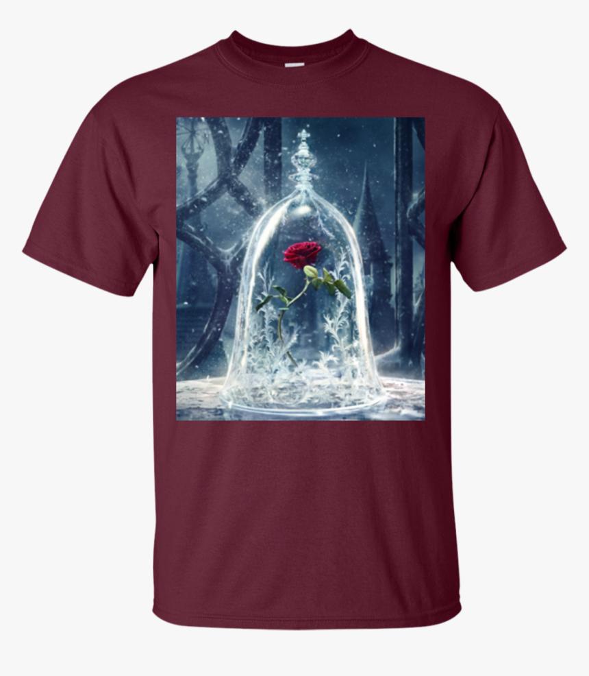 Beauty And The Beast Rose Hoodies Sweatshirts , Png - Beauty And The Beast Rose, Transparent Png, Free Download