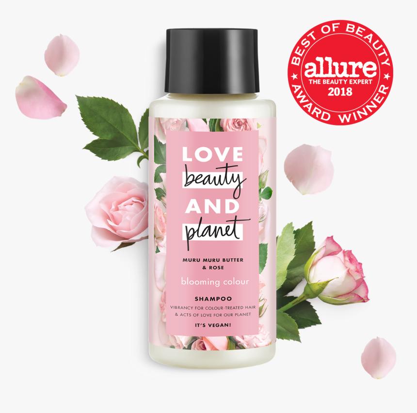 Love Beauty And Planet Murumuru Butter & Rose Shampoo - Love Beauty And Planet Hand Cream, HD Png Download, Free Download