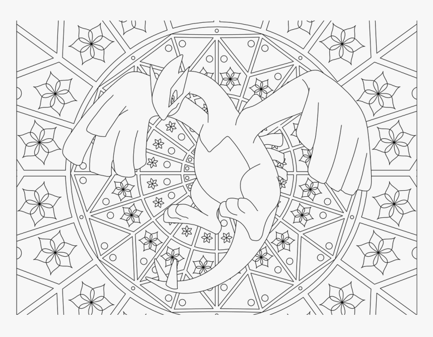 Printable Adult Coloring Pages Pokemon , Png Download - Squirtle Pokemon Coloring Pages, Transparent Png, Free Download