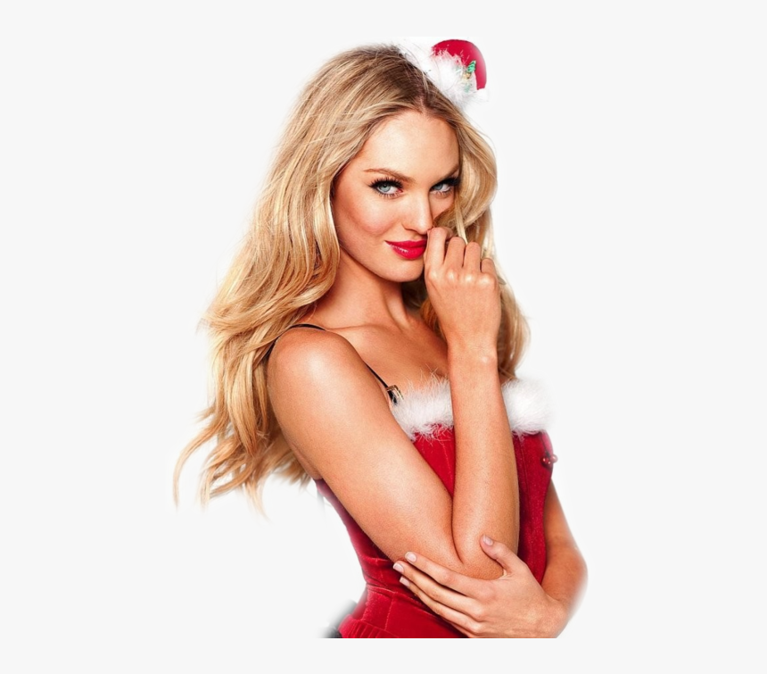 """Candice Swanepoel, Victoria""""s Secret, And Model Image - Victorias Secret Christmas Model, HD Png Download, Free Download"""