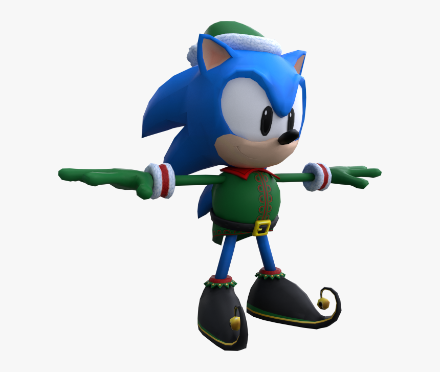 Download Zip Archive - Sonic Forces Speed Battle Elf Classic Sonic, HD Png Download, Free Download