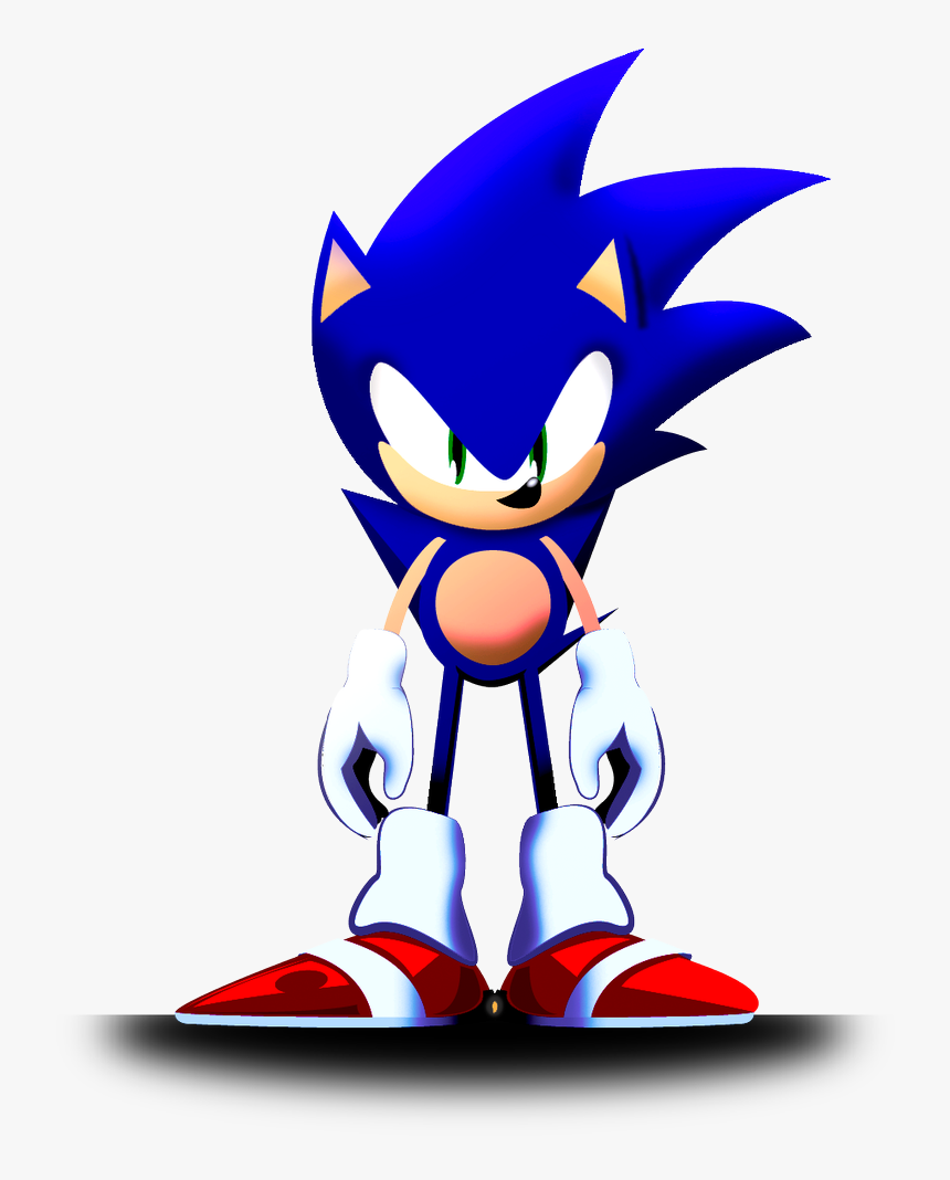 Classic And Modern Sonic Fusion Hd Png Download Kindpng