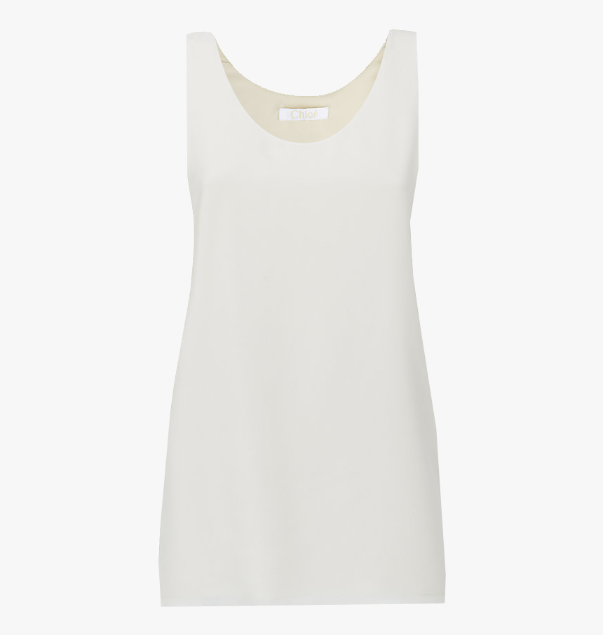 Chloe Iconic White Tank Top - Active Tank, HD Png Download, Free Download