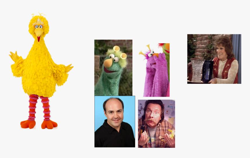 Muppet Wiki Behind The Scenes Sesame Street Episode - Big Bird Sesame Street, HD Png Download, Free Download