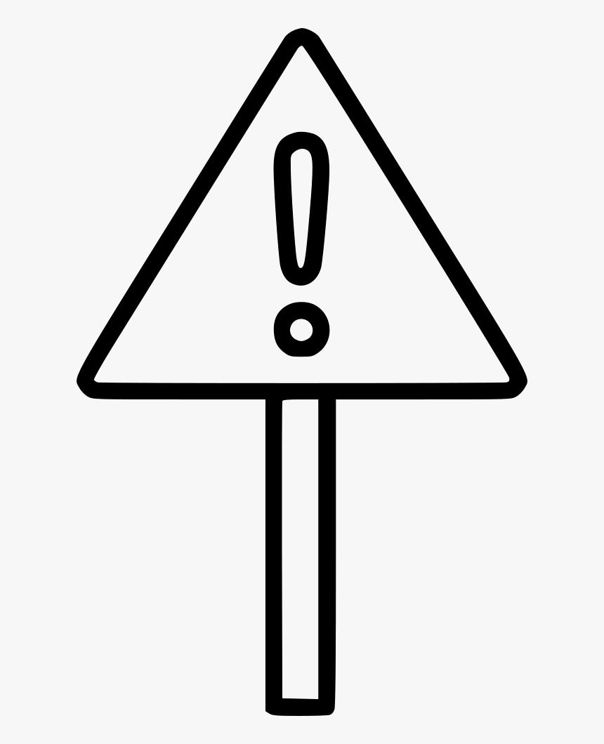 Transparent Warning Sign Png - Sign, Png Download, Free Download