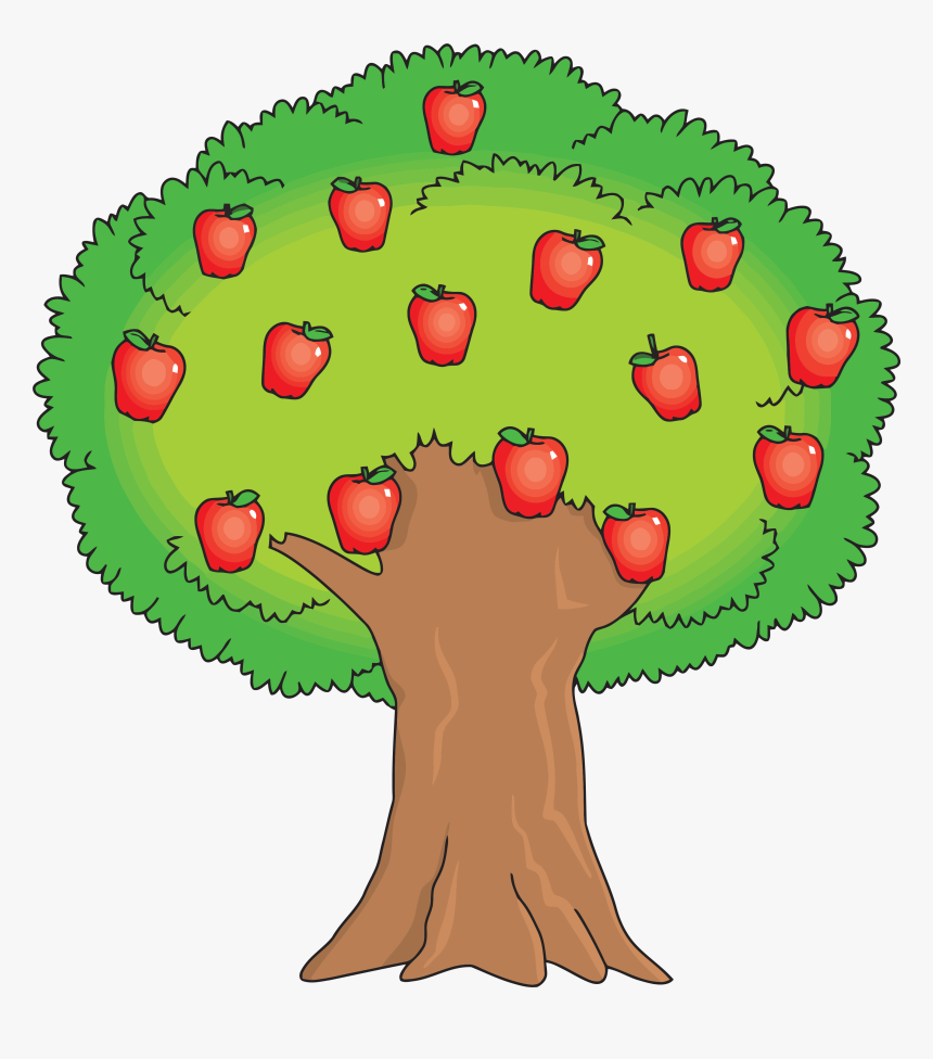 Apple Tree Clipart, HD Png Download, Free Download