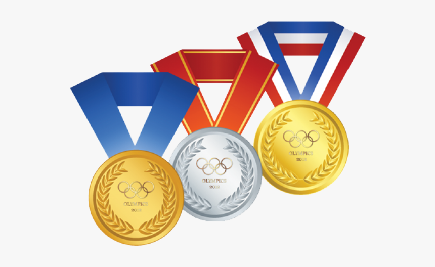 Medal Png Transparent Images - Olympic Gold Medal Clipart, Png Download, Free Download