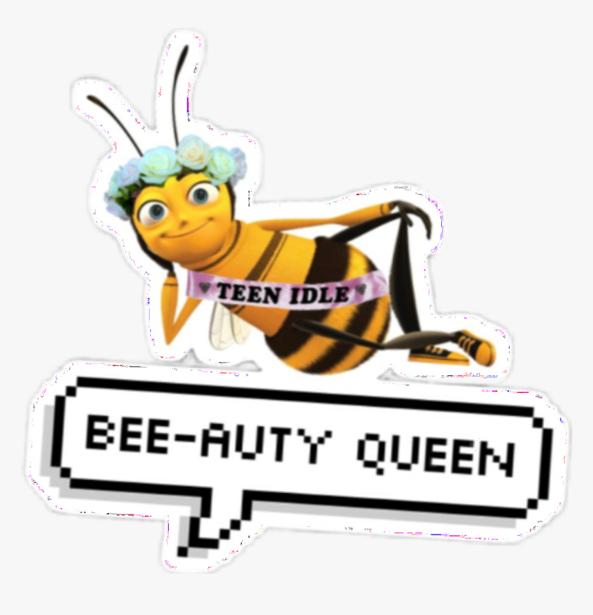 #bee #beemovie #sticker #beautiful - Meme Sticker For Snapchat, HD Png Download, Free Download