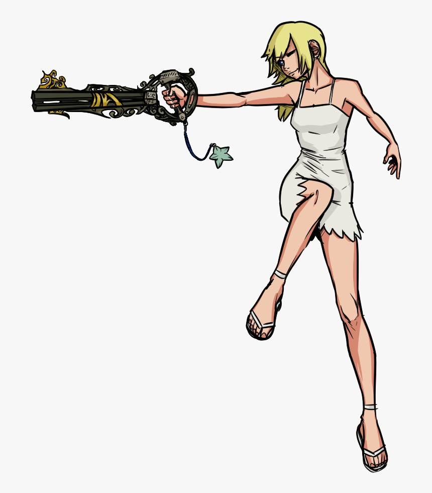 Kingdom Hearts Namine Keyblade, HD Png Download, Free Download