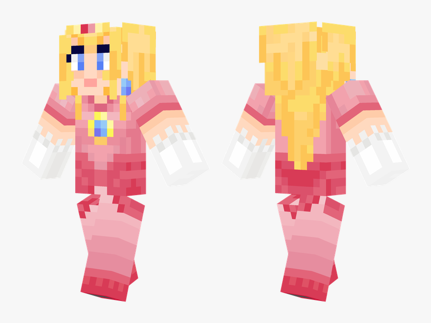 Girl Skins Minecraft Girl Characters, HD Png Download, Free Download