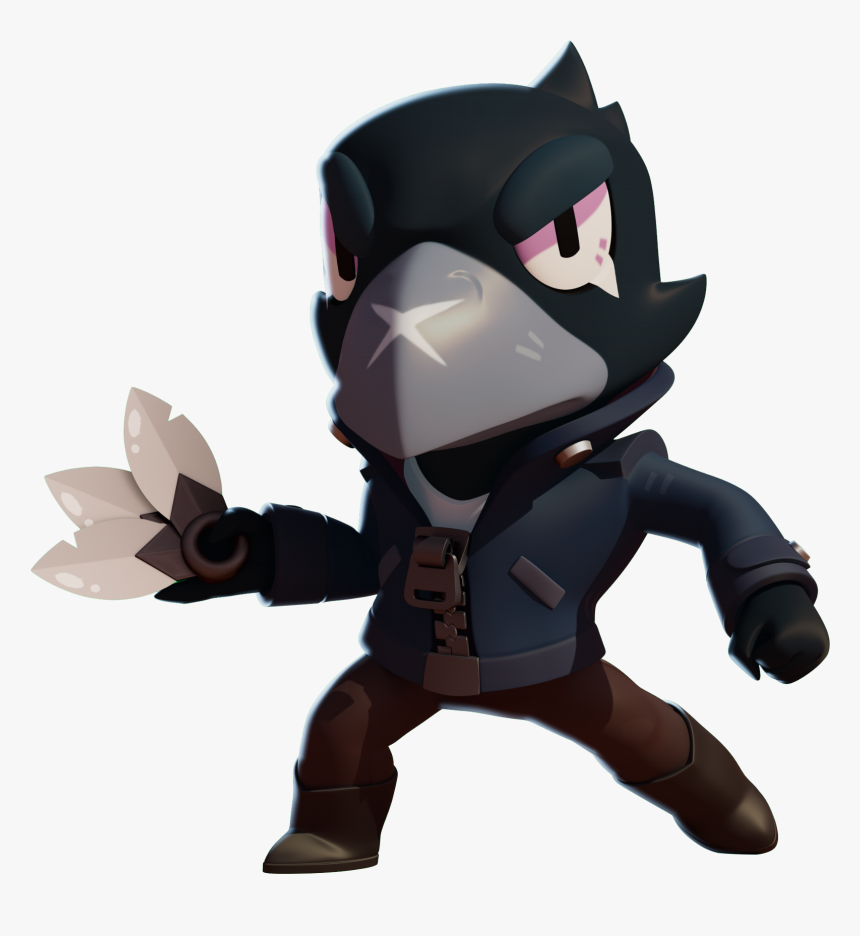 Brawl Stars Crow Png, Transparent Png, Free Download