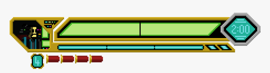 We Just Implemented Our Ui - Fighting Game Health Bar Png, Transparent Png, Free Download