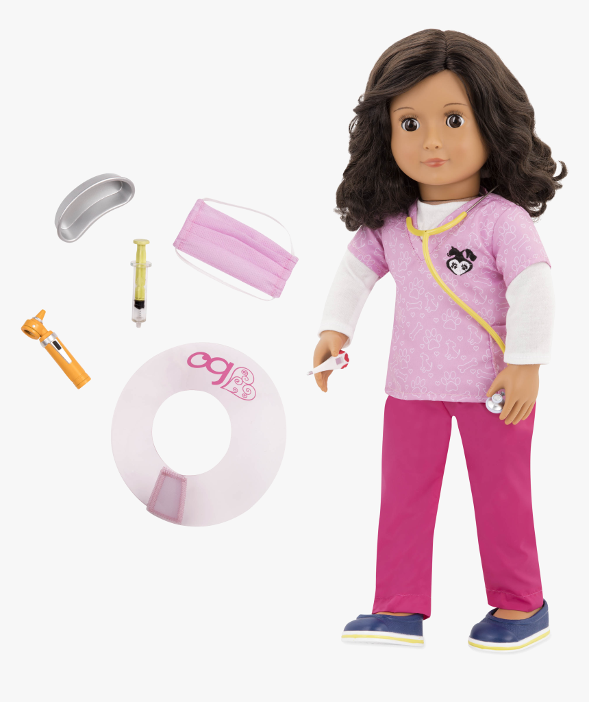 Paloma 18-inch Veterinarian Doll - Our Generation Paloma, HD Png Download, Free Download