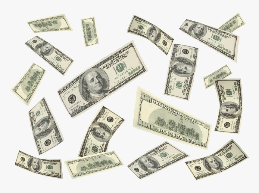Money Dollar Bill Png - Dollar Bills Png, Transparent Png, Free Download