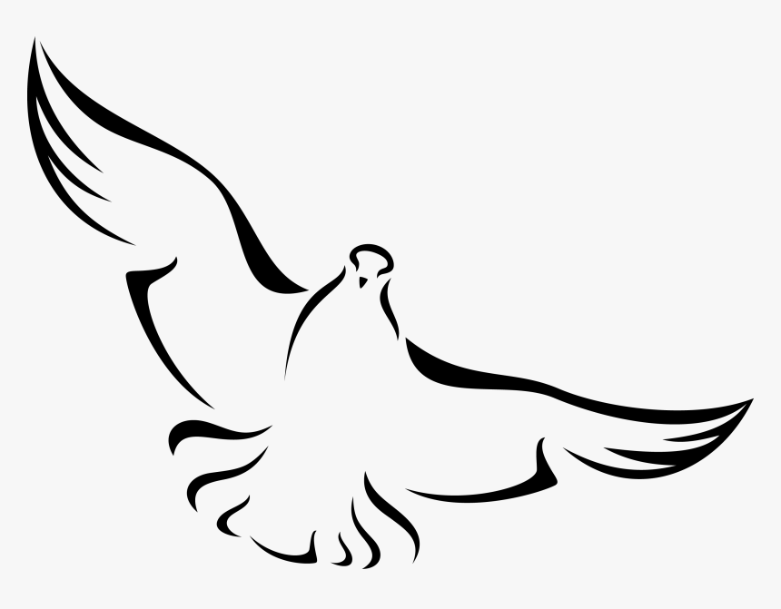 Beal Memorial Lecture And Study Guide - Black And White Dove Png, Transparent Png, Free Download