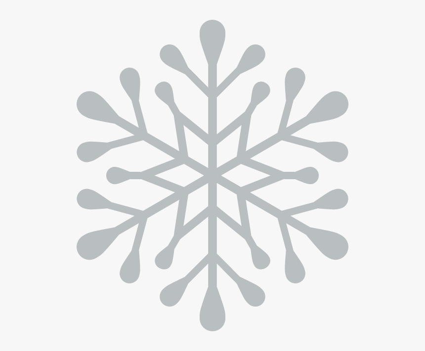 Simple Snowflake Icon, HD Png Download, Free Download