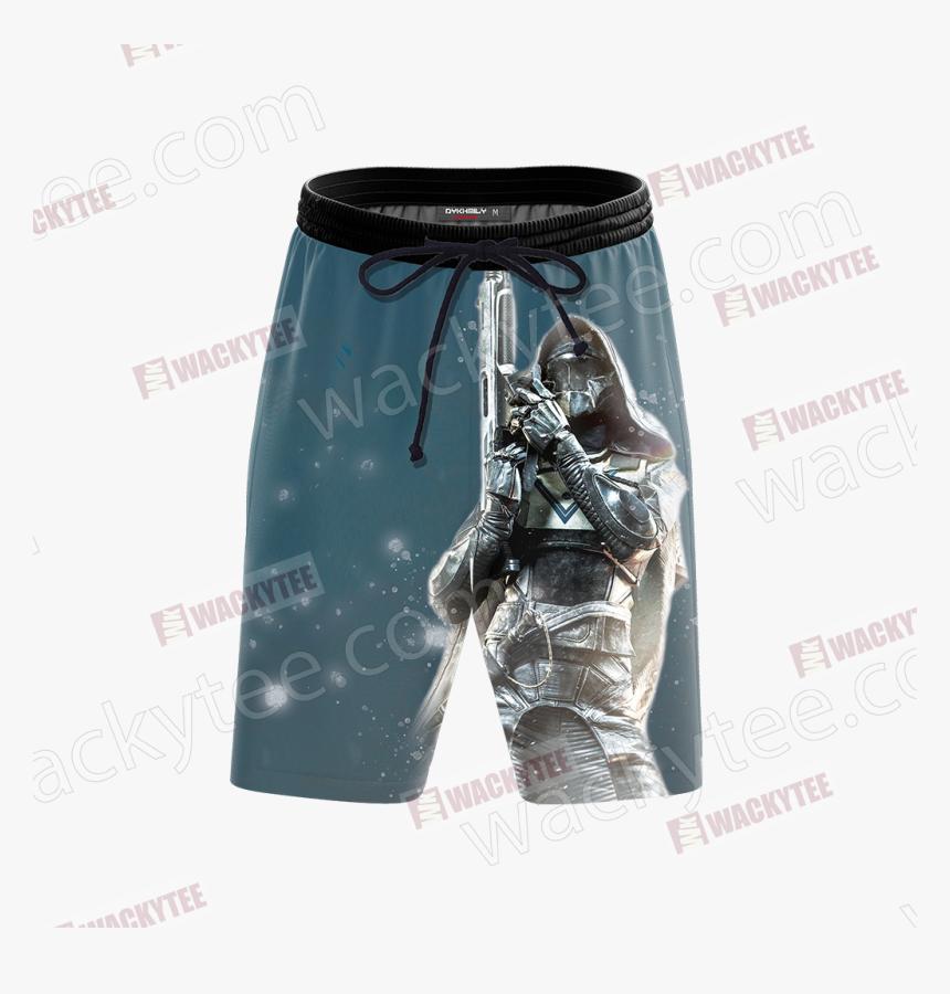 Destiny 2 Hunter Class 3d Beach Shorts Fullprinted - Board Short, HD Png Download, Free Download