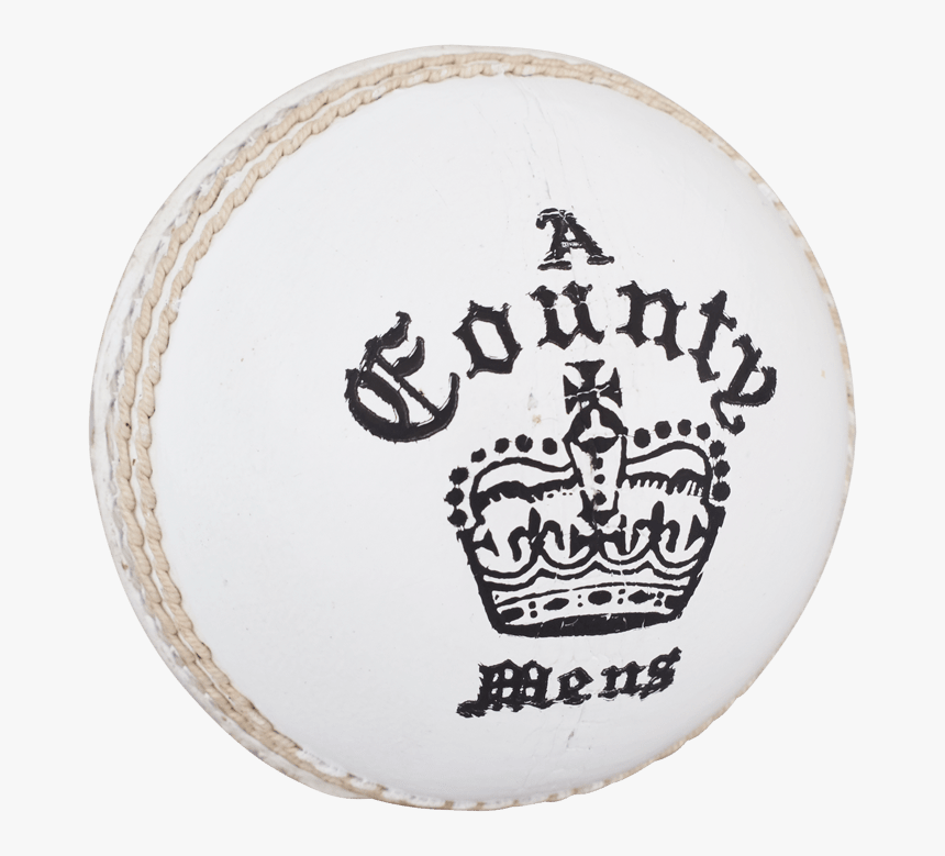 Readers County Crown White Cricket Ball - Readers County Crown Cricket Ball, HD Png Download, Free Download