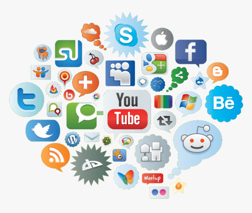 Internet And Social Networks, HD Png Download, Free Download