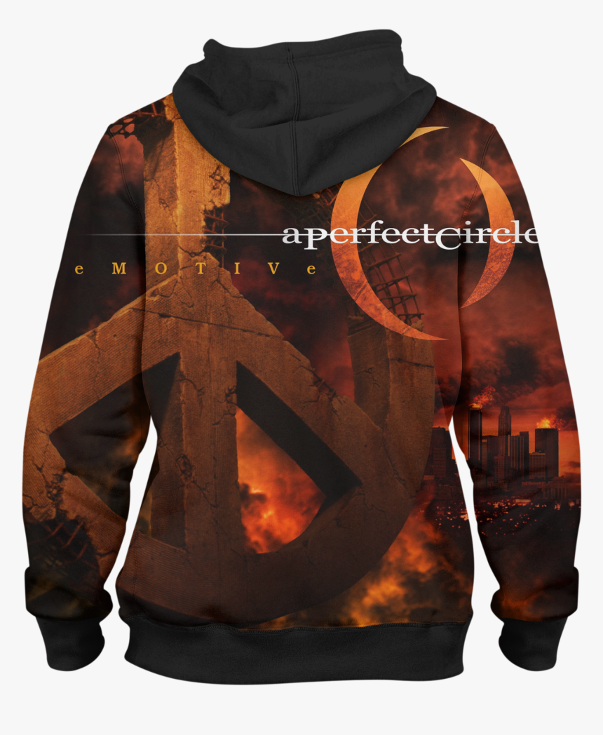 A Perfect Circle Hd163 Hoodie - Perfect Circle Emotive Album Cover, HD Png Download, Free Download