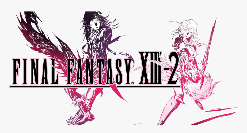 Newest Final Fantasy Xiii-2 Gameplay Video Highlights - Final Fantasy Xiii 2 Cover Art, HD Png Download, Free Download