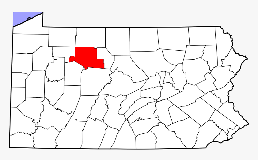 Elk County Pennsylvania On Map, HD Png Download, Free Download