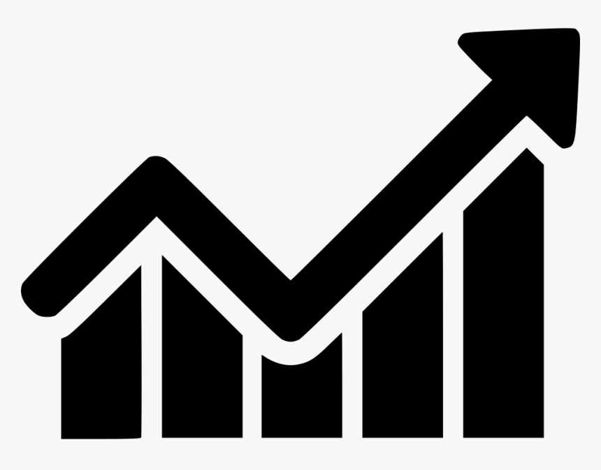 arrow increase profit chart graph analytics transparent graph icon png png download kindpng arrow increase profit chart graph