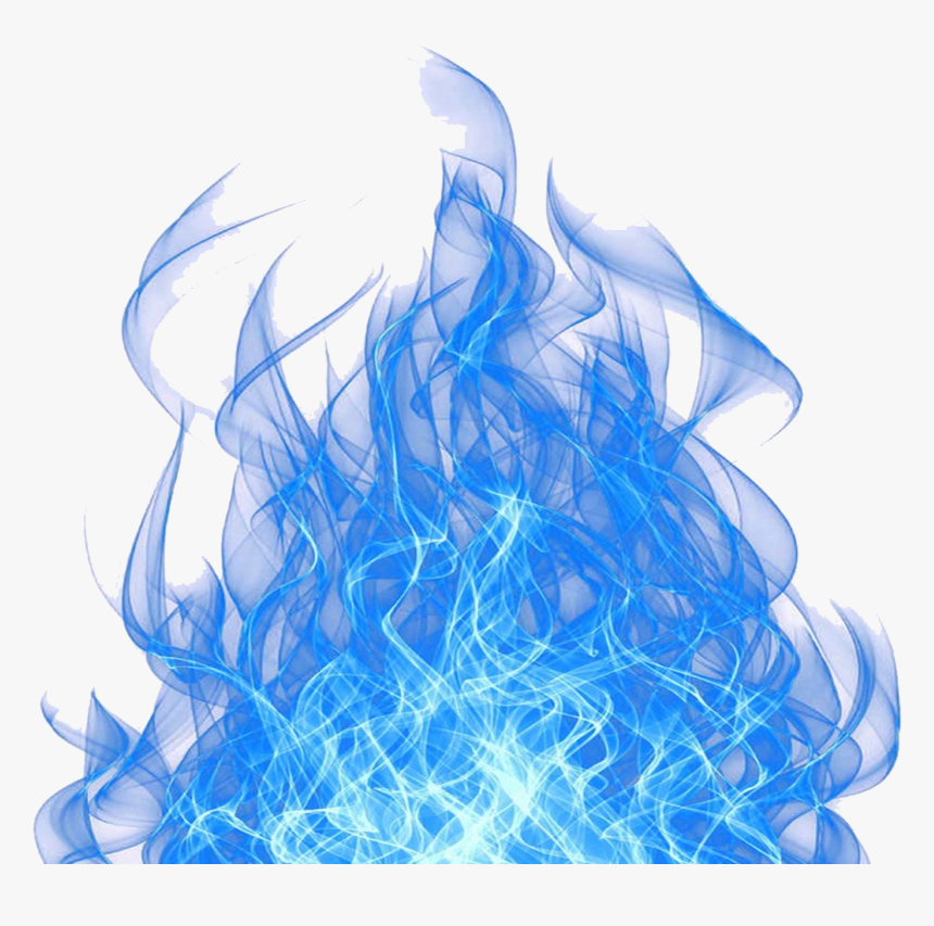 Blue Fire Cool Flame Light Free Hq Image Clipart Transparent Background Blue Flame Png Png Download Kindpng