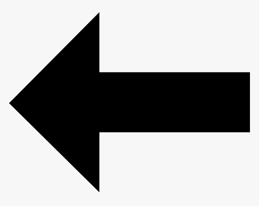 Transparent Graph Arrow Png - Big Arrow Pointing Left, Png Download, Free Download
