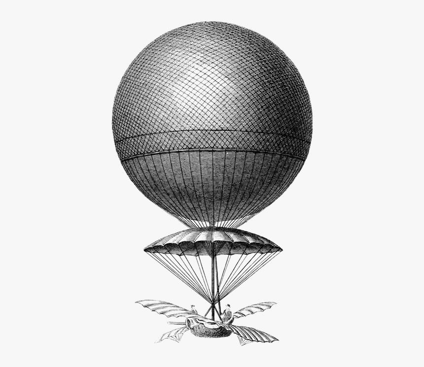 Aeronautics, Hot Air Balloon, Old, Vintage, Hot, Air - Old Hot Air Balloon Png, Transparent Png, Free Download