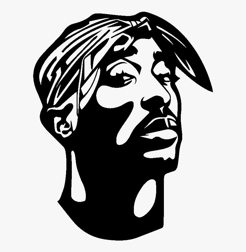 Tupac Sticker Hd Png Download Kindpng