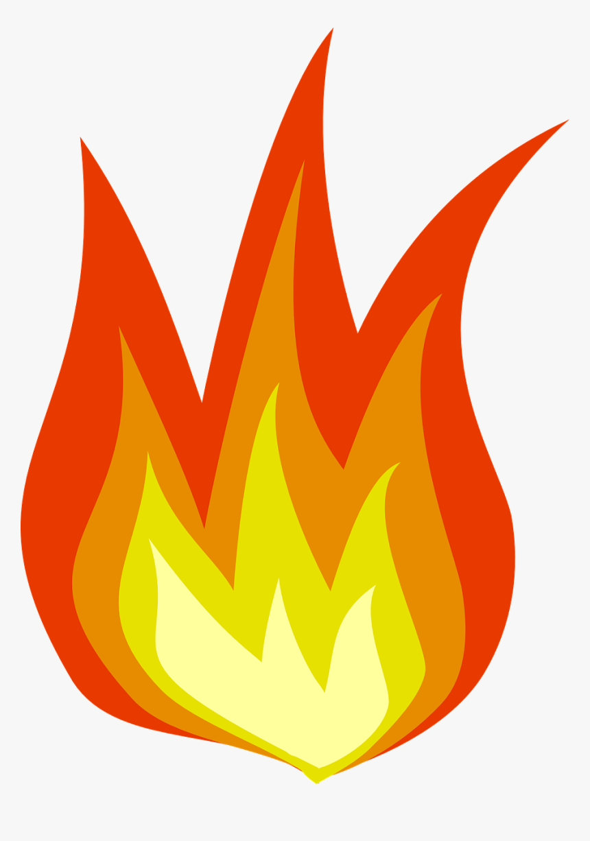 Fire Flames Hot Heating Orange Png Image - Animated Picture Of Fire, Transparent Png, Free Download