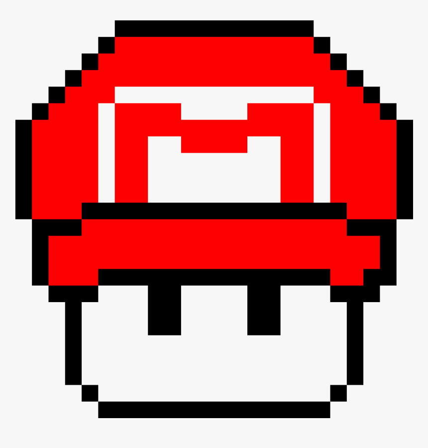 Transparent Mario Mushroom Png Pixel Art Grinch Png Download Kindpng