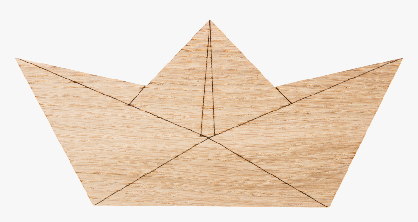 Hagelens Paper Boat Hook - Plywood, HD Png Download, Free Download