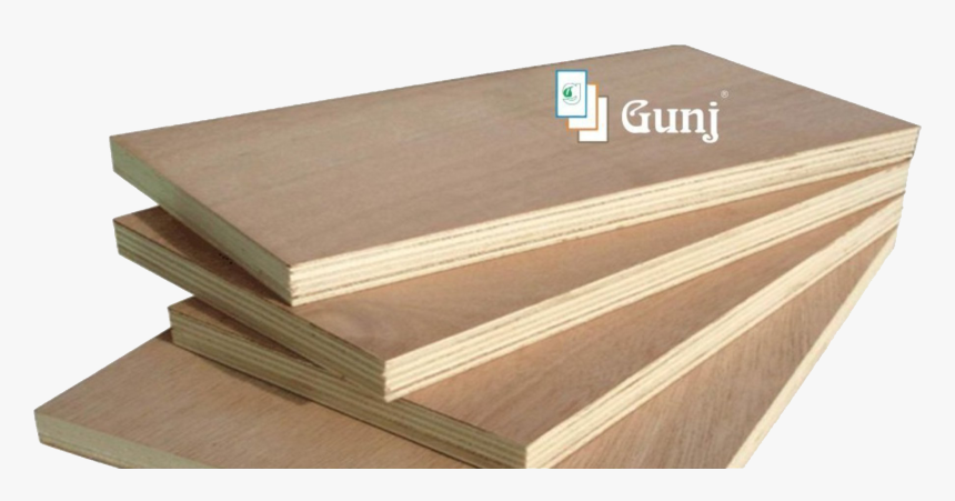 """""""think Ply, Think Gunj """" Gunj Is One Of The Top Brands - Plywood Image Download, HD Png Download, Free Download"""