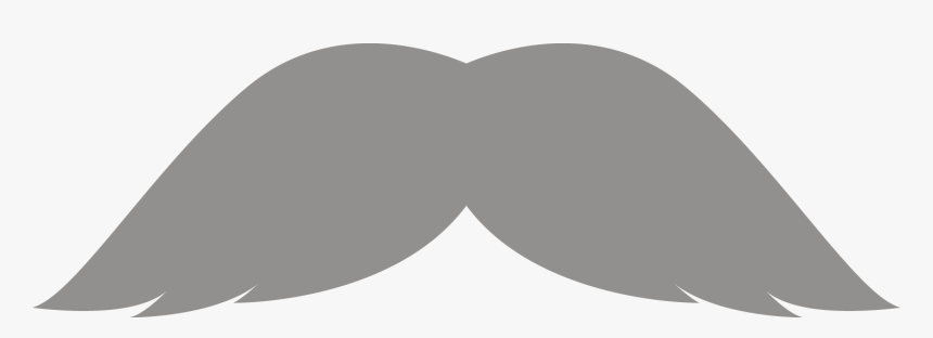Movember Mustaches Part Run - Grey Moustache Transparent Background, HD Png Download, Free Download