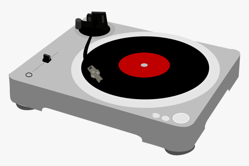Turntable, Record Player, Music, Deejay, Entertainment - Record Player Transparent Background Gif, HD Png Download, Free Download