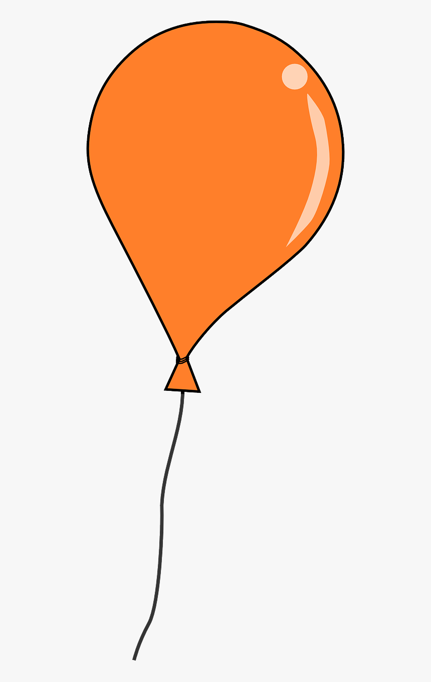 Balloon 4 Free Download Clipart Single Transparent Background Balloon Clipart Hd Png Download Kindpng