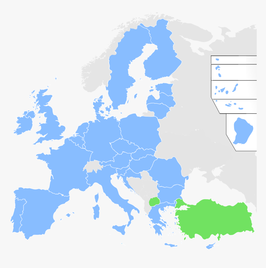 Europe Map Blank Png, Transparent Png, Free Download