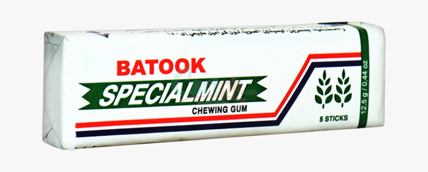 Batook Specialmint Chewing Gum - Chewing Gum, HD Png Download, Free Download
