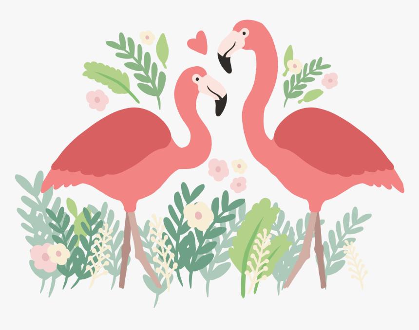 Transparent Flamingo Vector Png - Transparent Background Flamingo Png, Png Download, Free Download