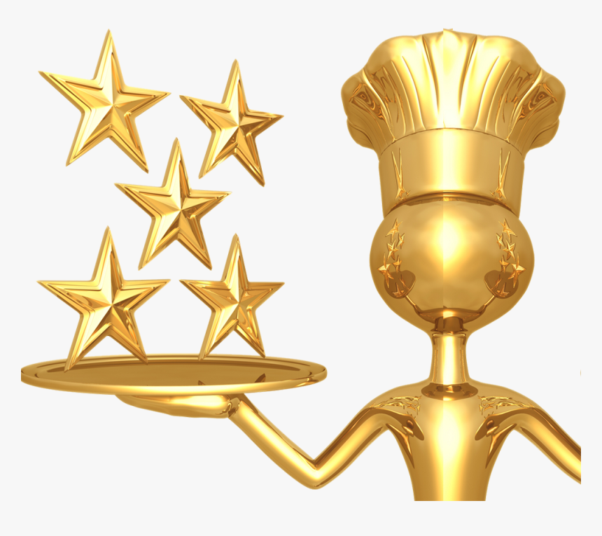 5-star - Gold 5 Star Rating, HD Png Download, Free Download