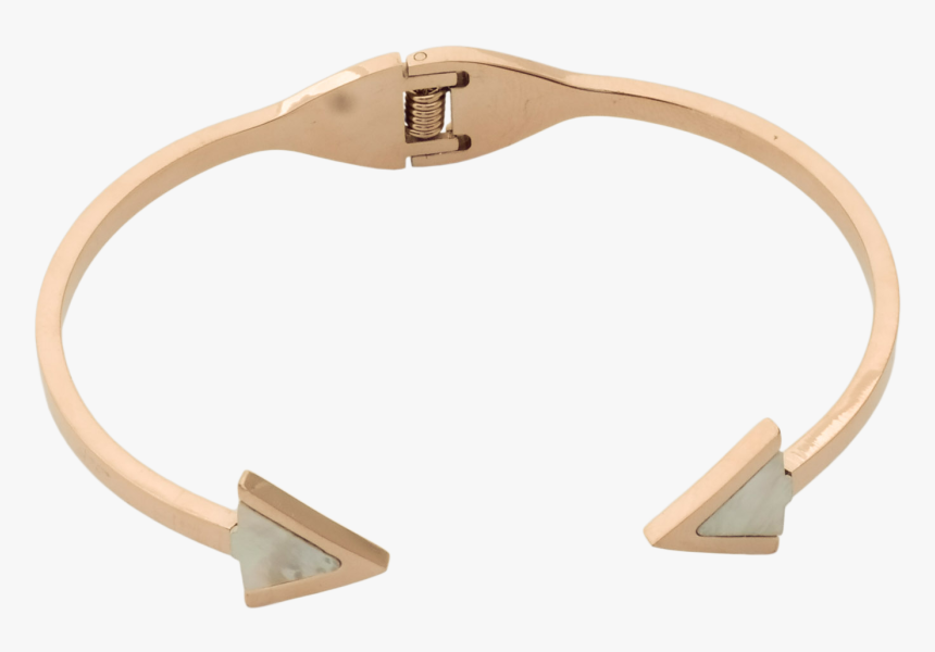Rose Gold Arrow Cuff Bracelet - Plywood, HD Png Download, Free Download