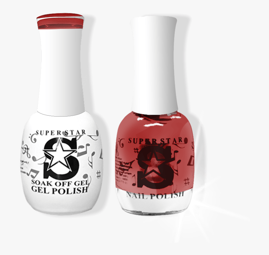 Transparent Nail Polish Png - Superstar Nail Polish, Png Download, Free Download