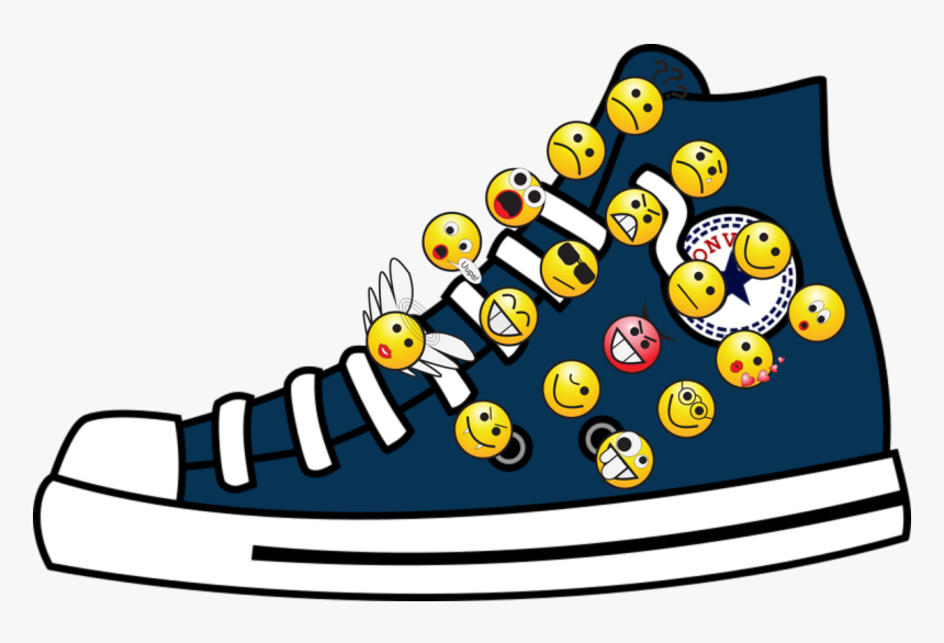 High Top Converse Chuck Taylor All Stars Sports Shoes - Converse Clipart, HD Png Download, Free Download